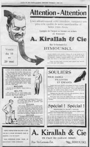 première-publicité